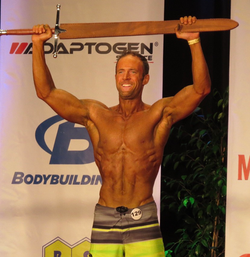 Mike Hardy Winning Physique Overall Title