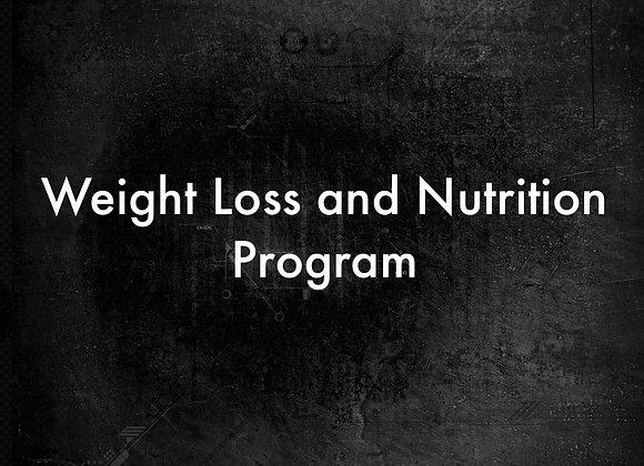 8 Week Online Weight loss & Nutrition Program