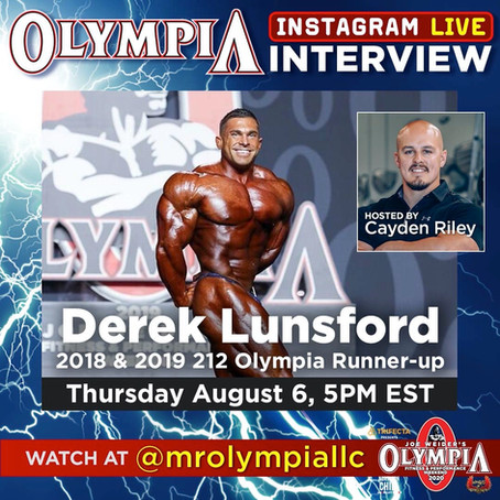 Derek Lunsford and Cayden Riley talk all things fitness in a latest interview on Muscle & Fitness