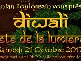 Toulouse: la fête de la lumière - le village célèbre l'Inde