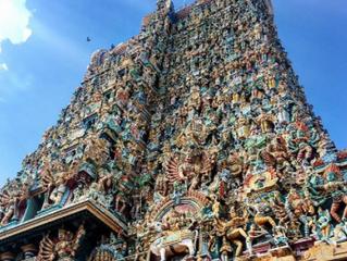 Un magnifique temple a Minakshi