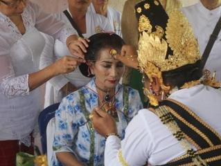 La princesse devient hindoue