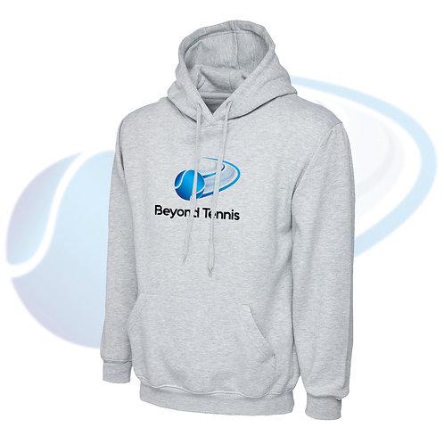 Unisex Adult's Personalised Tennis Hoodie - Grey