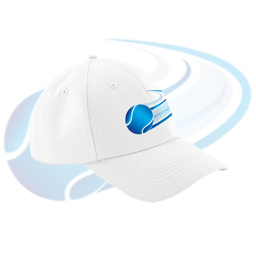Sports Cap - One Size Fits All - White