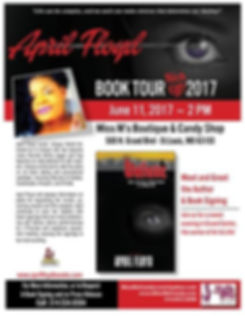 April's Book Tour 2017