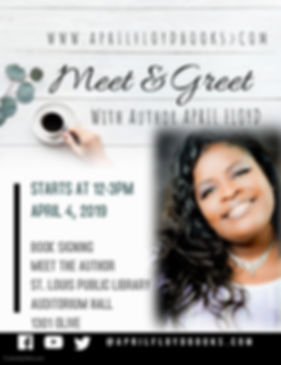 Meet and Greet With APRIL FLOYD