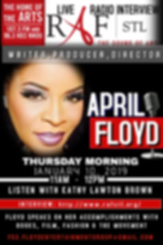 April Floyd Radio Interview With RAFSTL