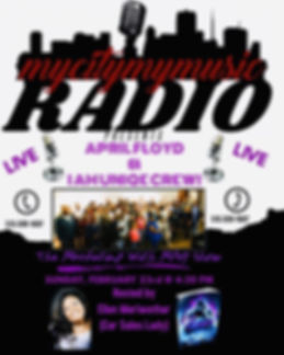 My City My Music Radio Interview Feb 23