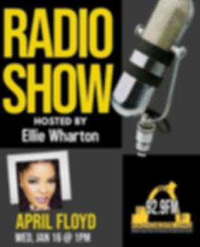 April Floyd On 92.9 FM Jan 2019
