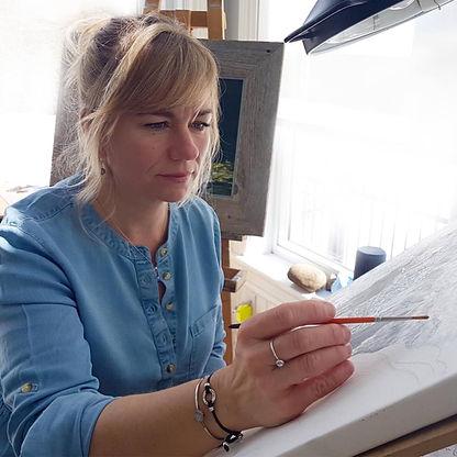 Danièle Désourdy artiste peintre animalière
