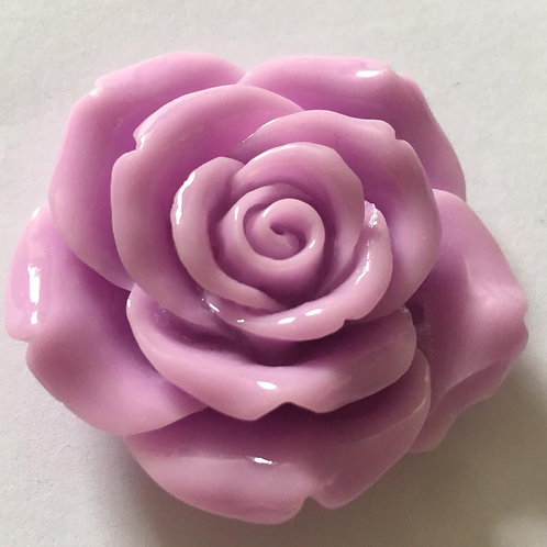 42mm XL resin flower with hole