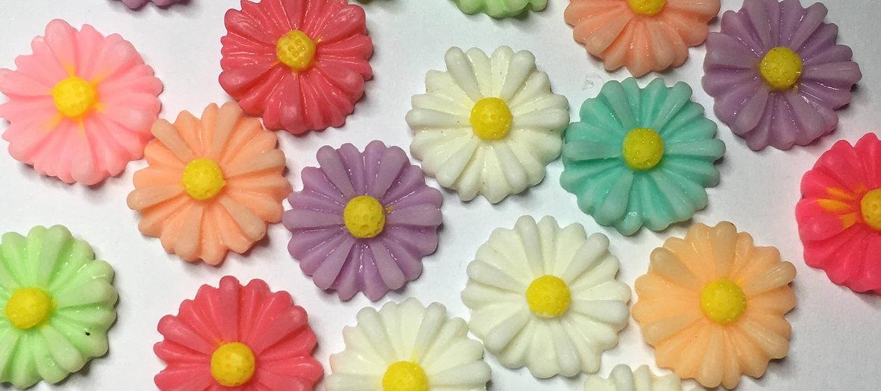 Resin flowers - daisy