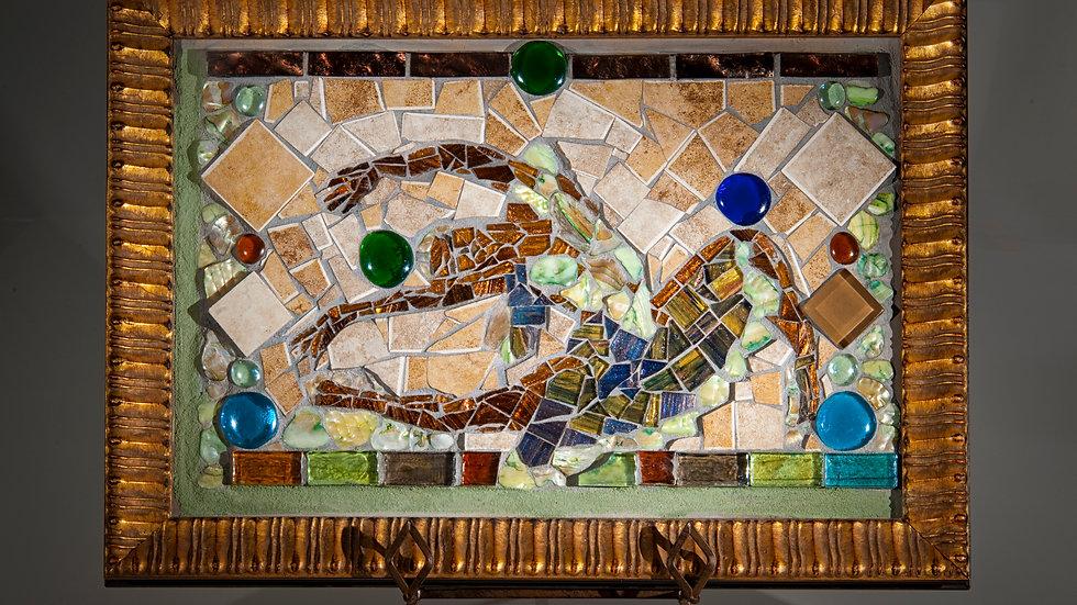 Circ de Ballet glass art mosaic