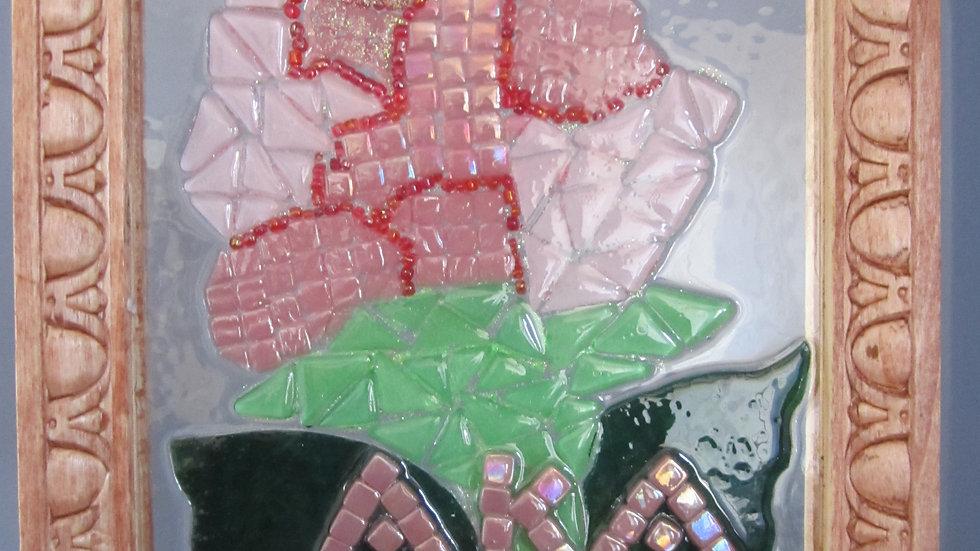 Alpha Kappa Alpha artwork glass mosaic