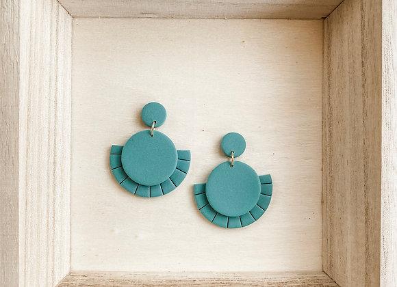 Susan Earrings - Polymer Clay