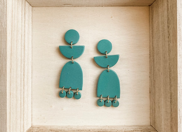 Lily Earrings - Polymer Clay
