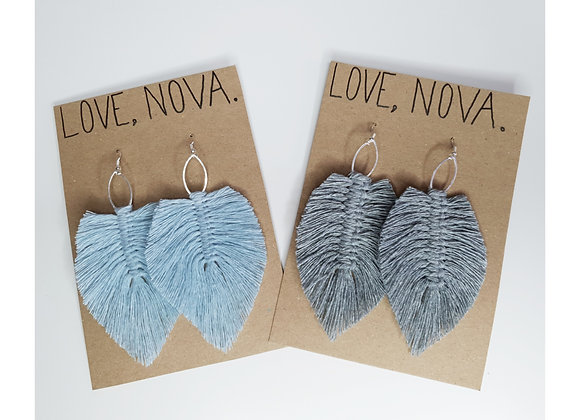 Feather Earrings - Standard
