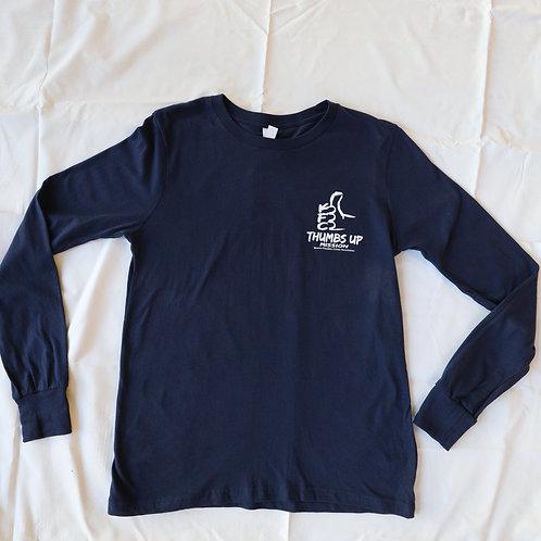 Long Sleeve T-Shirt | Blue