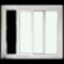 ประตูบานเลื่อนสำเร็จรูป วิวแลนน์