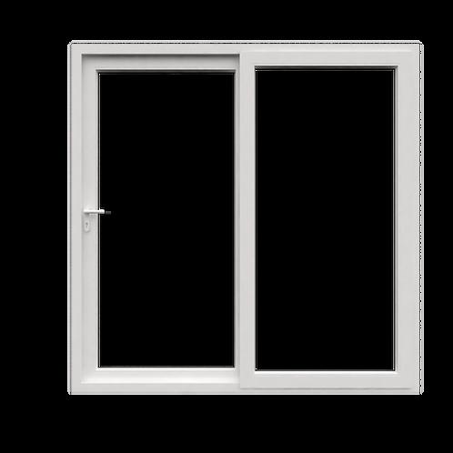 ประตูบานเลื่อนคู่ใหญ่