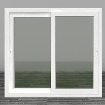 หน้าต่างบานเลื่อนคู่