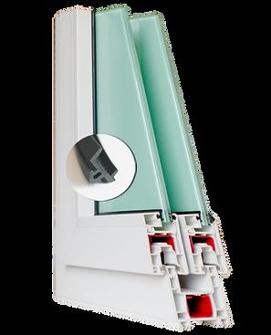 ยาง EPDM ยางซีลกระจก ของบาน uPVC