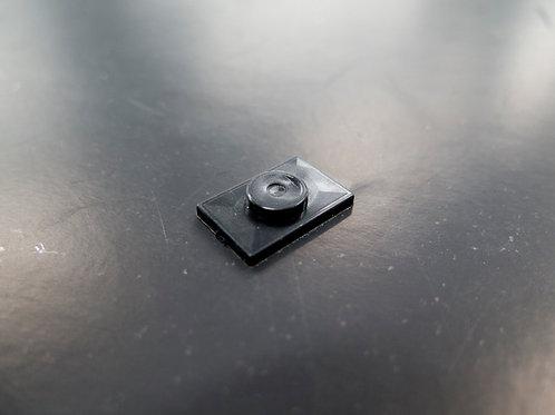 sliding buffer for setting block black