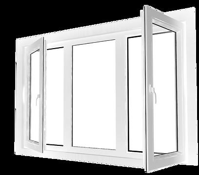 เฮฟต้า หน้าต่าง บานเปิด uPVC