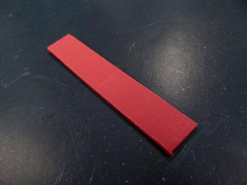 glazing wedge red 3 mm ชิมรองกระจก 3 มิล