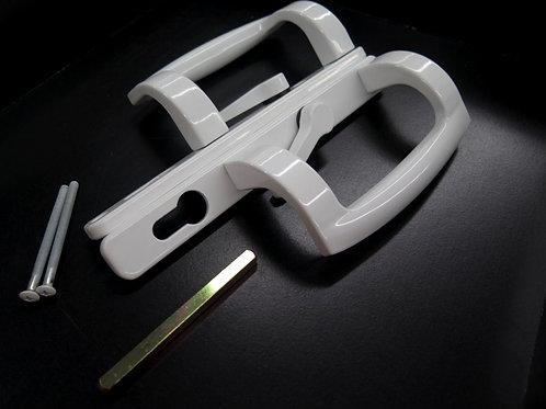 Sliding handle set lever with key