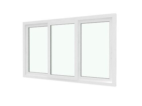 หน้าต่างบานเลื่อนสามสำเร็จรูป