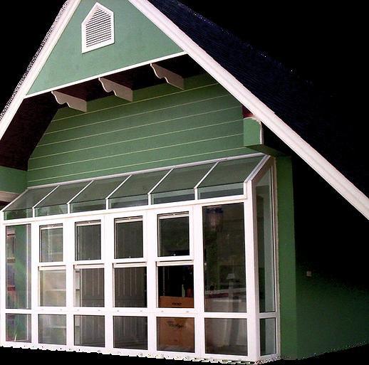 หน้าต่างบานยก ติดตั้งบ้านลูกค้า HEVTA
