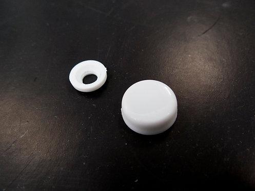 Cover for fixing screw/ ฝาปิดรูสกรู สีขาว