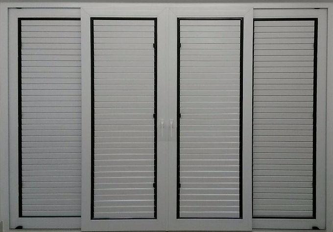 upvc shaded door