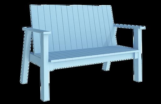 เก้าอี้สนาม long chair pastel blue