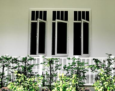 หน้าต่างวัสดุยูพีวีซี