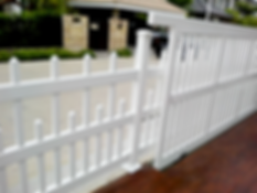 uPVC Fence