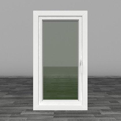 หน้าต่างบานเปิดเดี่ยวขวา