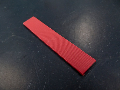 glazing wedge red 3 mm/ ชิมรองกระจก 3 มิล
