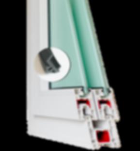 ยาง EPDM กันน้ำในประตูหน้าต่าง HEVTA