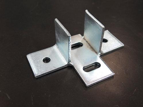 Steel support for CP40,46 / ฉากยึดตัวประกบ