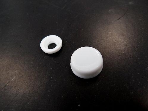 Cover for fixing screw ฝาปิดรูสกรู สีขาว