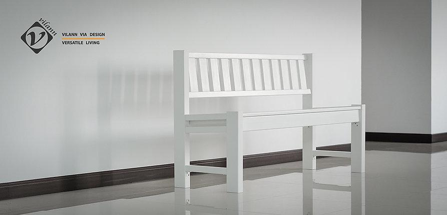 เก้าอี้ ม้านั่งสนาม uPVC