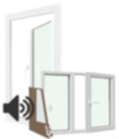 Soundproof door.