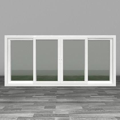หน้าต่างบานเลื่อนสี่
