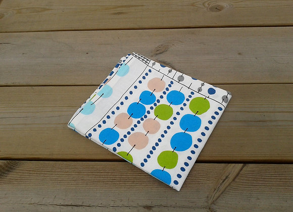 Linen tea towel from Marimekko fabric Korona