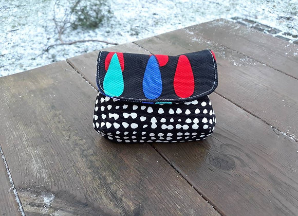 Small fabric purse from Marimekko fabric
