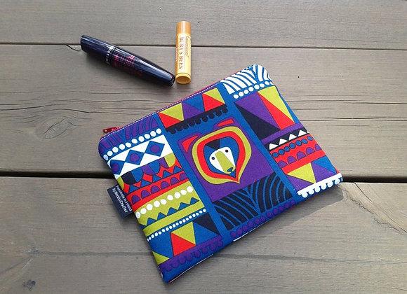 Small zip pouch from Marimekko fabric Kukkuluuru