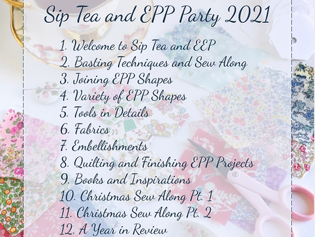 Sip Tea and EPP in 2021