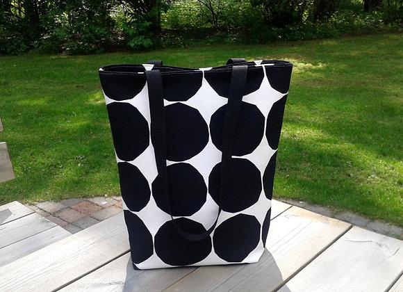 Canvas tote bag from Marimekko fabric Kivet